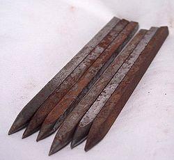 Оружие ниндзя - ивара-сякены