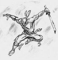 Монах Одзуну специально для ниндзя